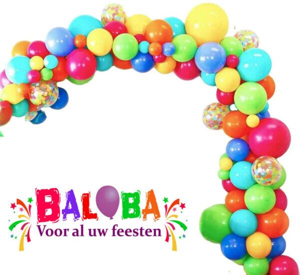 BallonnenBoog Mix kleuren