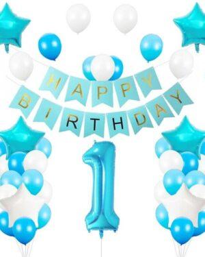Verjaardag versiering 1 jaar