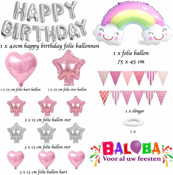 baloba eenhoorn feestpakket