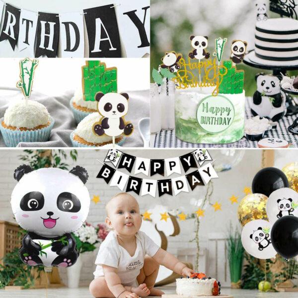 panda ballonnen